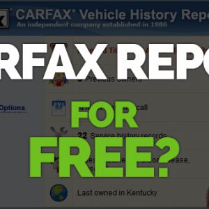 Are you searching for Free CARFAX Report VIN Check?
