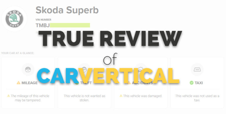 Review of CarVertical