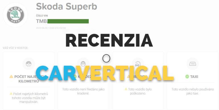 Carvertical Recenzia