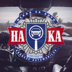 HAKA – Revoluce v pátrání po kradených automobilech